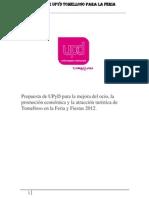 Propuestas para la feria 2012