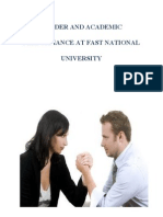 Gender and Academic Performance at Fast National University