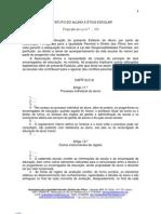 PROPOSTA DE ALTERAÇÃO AO PL DO GOVERNO SOBRE O ESTATUTO DO ALUNO E ÉTICA ESCOLAR 2012 - APIPDF