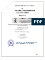 Evaluation of the E-Auction System of Cil