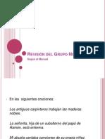 5. I revisión del Manual y transitivas y intransitivas