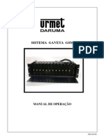 Urmet Daruma Manual Celline ICG-254(Rack) Quadriband