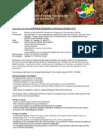 Newsletter1 Meeting October 2011