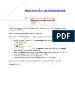 Cara Turn Off Display Errors Saat Pre Installation Check Joomla