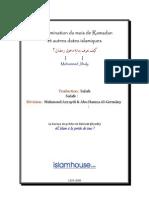 Détermination du mois de Ramadan et autres dates islamiques