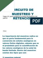 CIRCUITO DE MUESTREO Y RETENCIÓN