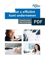Consumentenbrochure Financial Lease Alpha Credit Nederland