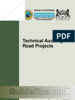 Guideline 7 Technical Auditing of Road Projects