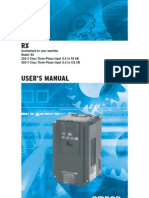 Rx Inverter Manual En