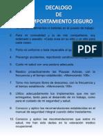 Decalogo Oficina Segura 2012