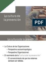La Cultura de la Prevención