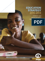 Plan's Education Strategy 2010-2013