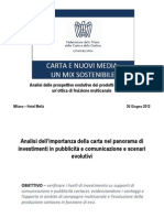LORIEN - Carta e Nuovi Media