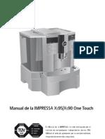 Download Manual Jura Impressa Xs90 Xs95 Otc Espanol