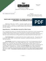 Summer Advisory for Senior Citizens (2) Press Release