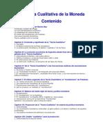 La Teoría Cualitativa de la Moneda- Walter Beveraggi Allende