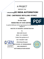 PROJECT REPORT Yashujee India Automation Reviwed