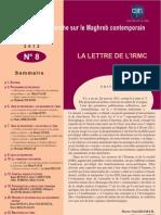 Lettre IRMC 8