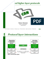 1 CAN Higher Layer Protocols