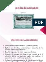Capitulo 7 Valuación de acciones