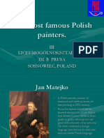 The Most Famous Polish Painter.