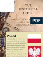 Our Historical Cities