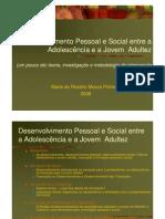 Desenvolvimento Psicossocial de Adolescentes a Jovens Ad Woc 2 Erickson