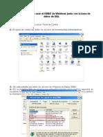 Configuracion ODBC-SQL