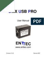 Dmxusbpro Manual