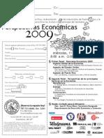 Hoja de Reservación para Perspectivas Económicas 2009