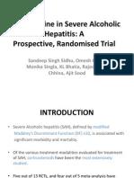 Pentoxiphylline in severe alcoholic hepatitis, Capsule endoscopy, Methotrexate toxicity