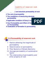 2.4 Rock Permeability