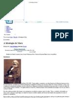 A Ideologia de Marx