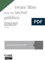 Software Libre en el Sector Publico