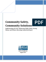 Community Safety, Community Solutions