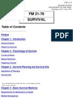 (eBook - PDF) - Military - US Army Survival Manual FM 21-76