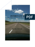 Interstate 10 and Other Modes of Transportation