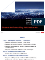 Arquitectura de Subestaciones y Onda Portadora - ABB - Abril 2011 PCM-PEABB-REV0
