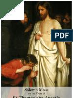 St Thomas Apostle 2012