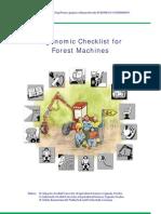 ERGOWOOD-Ergonomic Checklist for Forest Machine