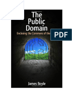 Boyle - The Public Domain - Enclosing the Commons of the Mind (2008)