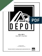 ADA MP-1 Stock Gain Mod Doc