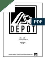 ADA MP-1 Level Switch Mod
