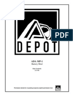 ADA MP-1 Battery Mod