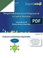 Responsabilidad Social Empresarial y Capital Humano