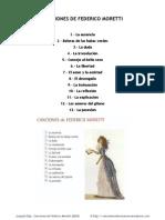 2009 Canciones de Federico Moretti