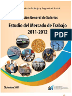 Estudio Del Mercado de Trabajo 2011-2012