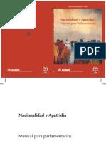 Nacionalidad  y Apatridia