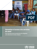 Garantizar el acceso a los servicios de salud