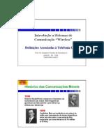 8 - Sistemas de comunicações móveis